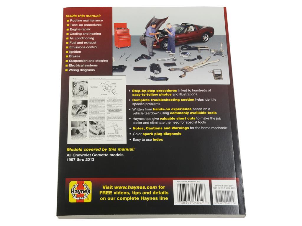 97 13 Haynes Shop Repair Manual Corvette Central 1997 Wiring Diagram 115018 3main 1
