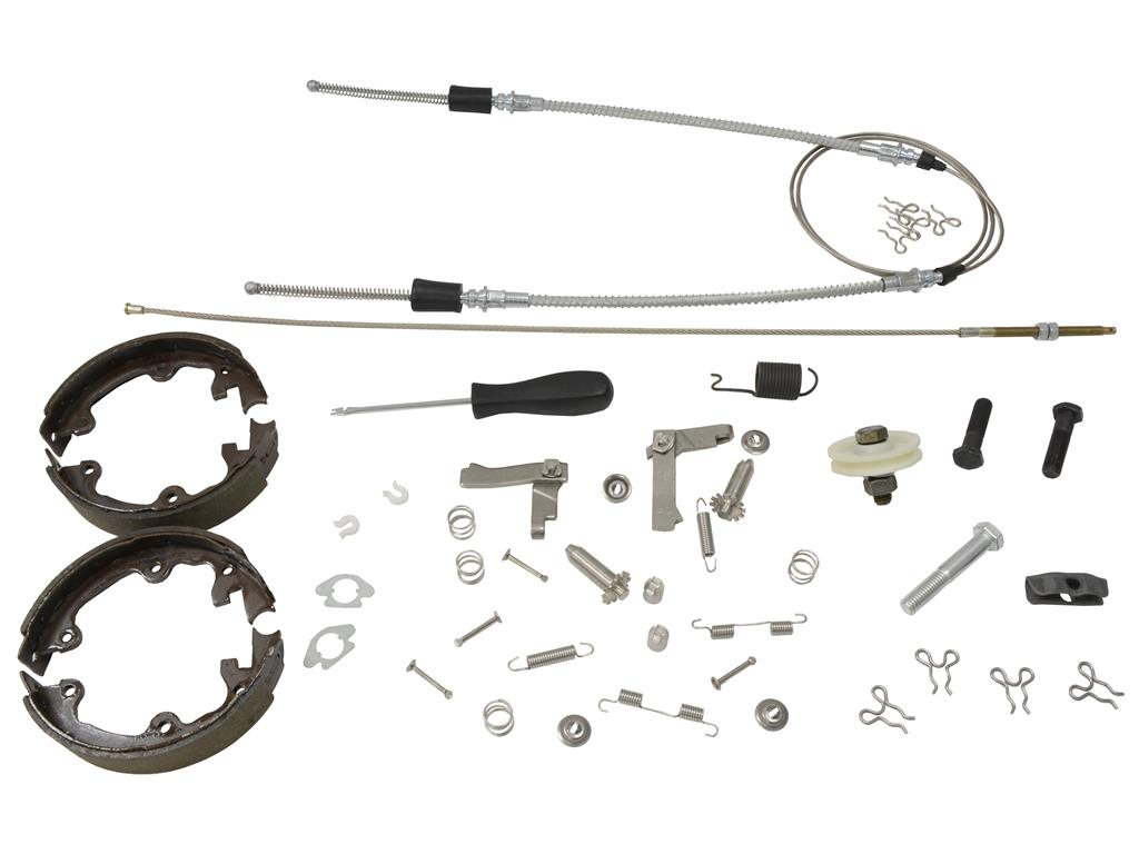 67-82 parking    emergency brake rebuild kit