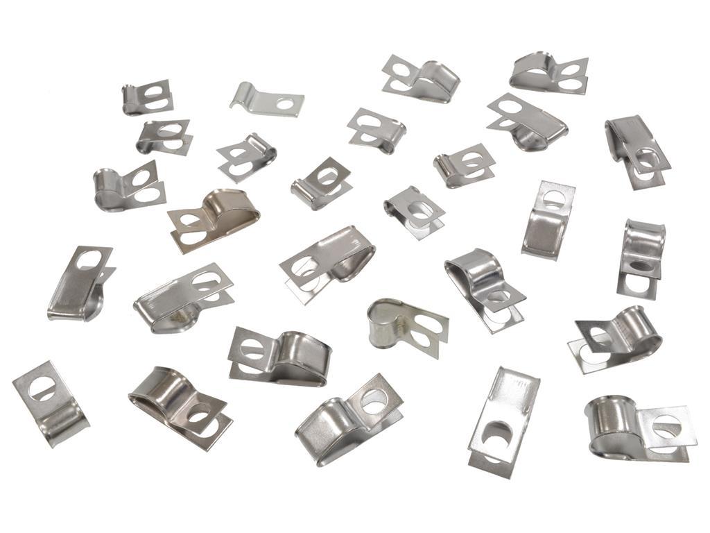 74-82 brake and fuel line clip set