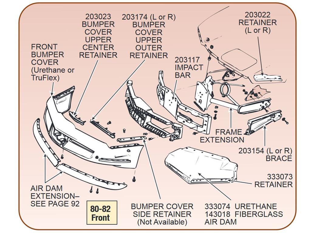 1977 Corvette Engine Diagram Trusted Wiring Diagrams Front Frame Extension Belt 1978 350
