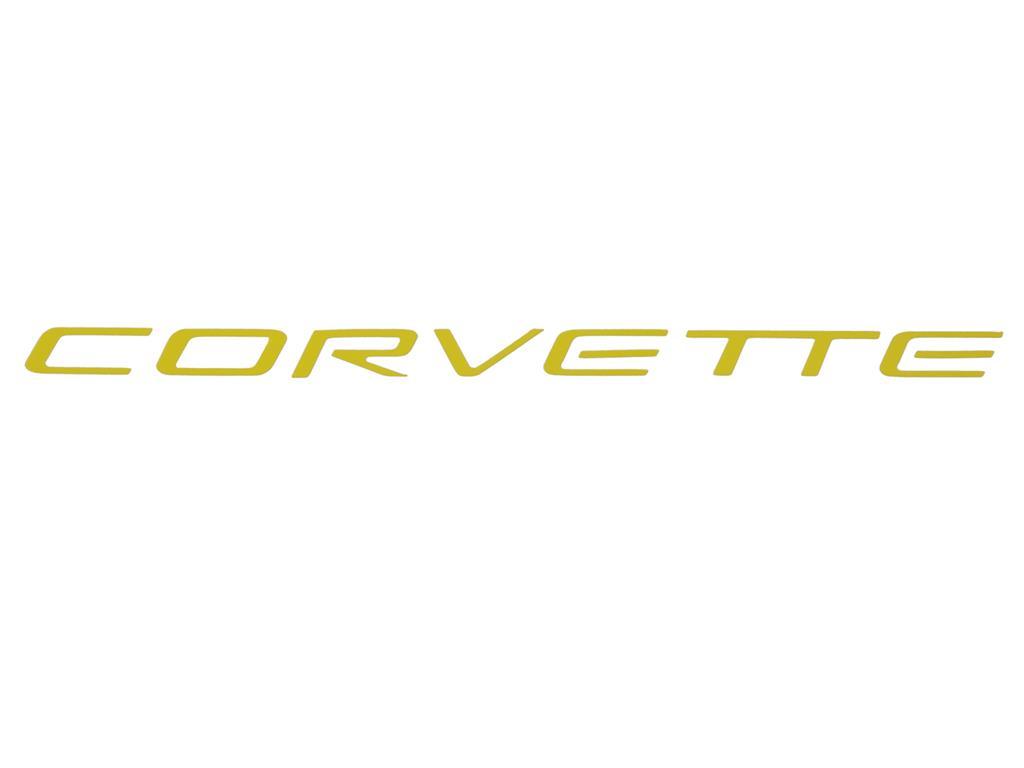 97-04 Dash Air Bag Decal Letter / Emblem   Corvette Central