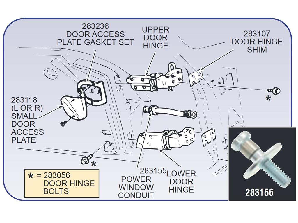 68 81 Power Window Wire Conduit Moulded Rubber 2 Required C5 Corvette Wiring Diagram