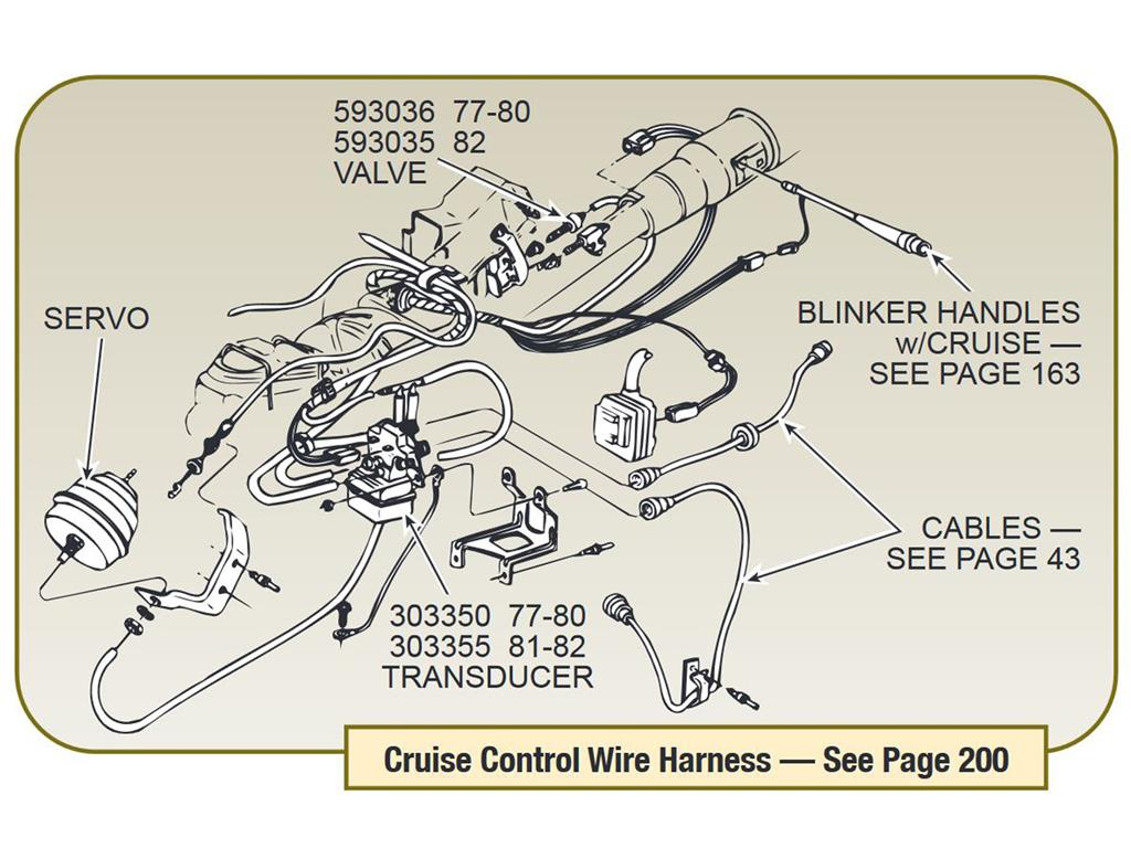 77-80 Cruise Control Transducer Rebuilt 2 Wire ...