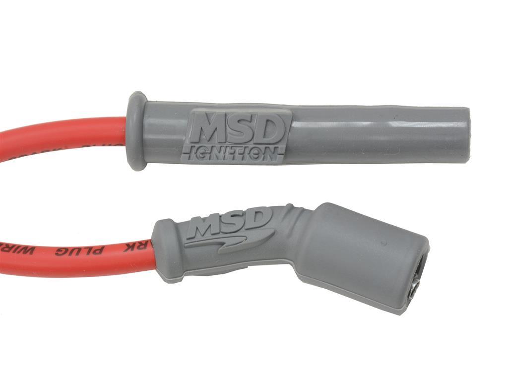14-19 Red MSD LT1 Super Conductor Spark Plug Wire (ND) | Corvette ...