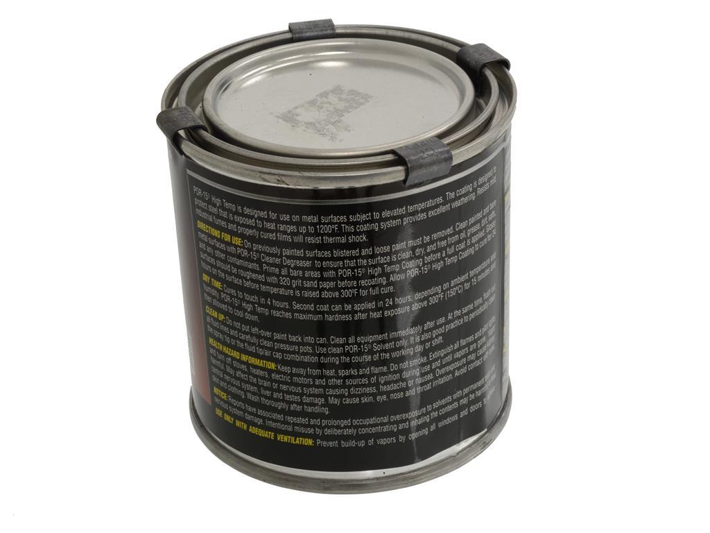 Por-15 Factory Manifold Gray Coating - 8 Oz