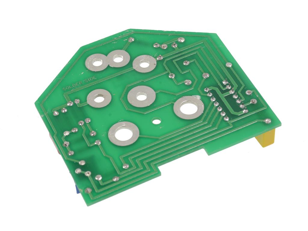 Printed Circuit Board And Electronic Meter Stock Photos Image
