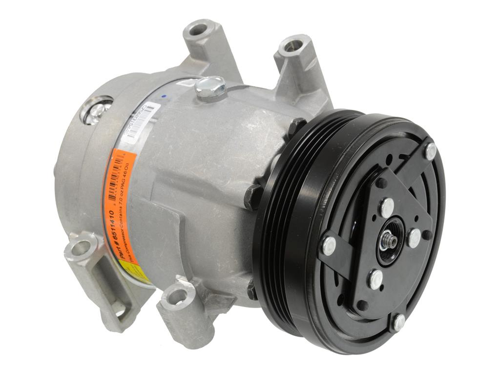 97-04 Air Conditioning Compressor - With Clutch Pulley - New