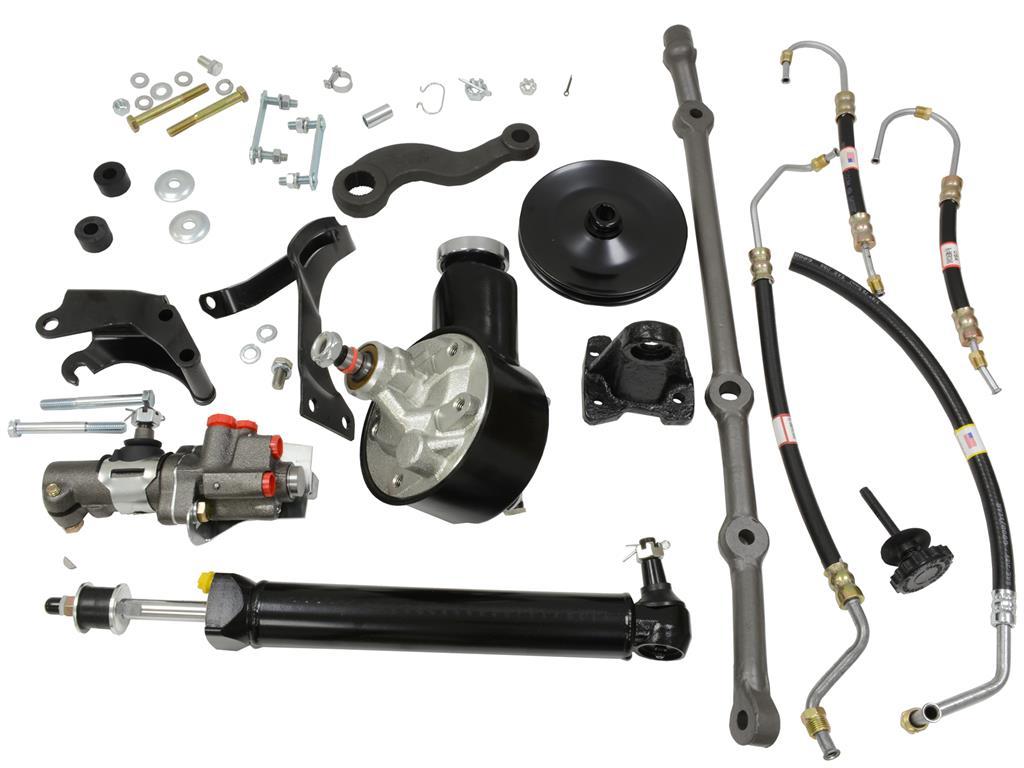 63 79 Power Steering Conversion Kit 327 Except 365 375 Hp Bolt Pump 562095main