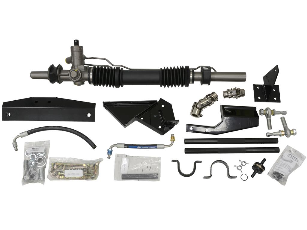 manual rack and pinion conversion