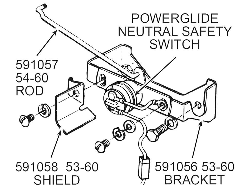 powerglide transmission diagram