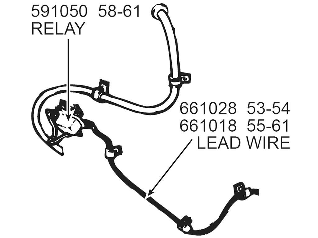 55-61 neutral safety switch wire