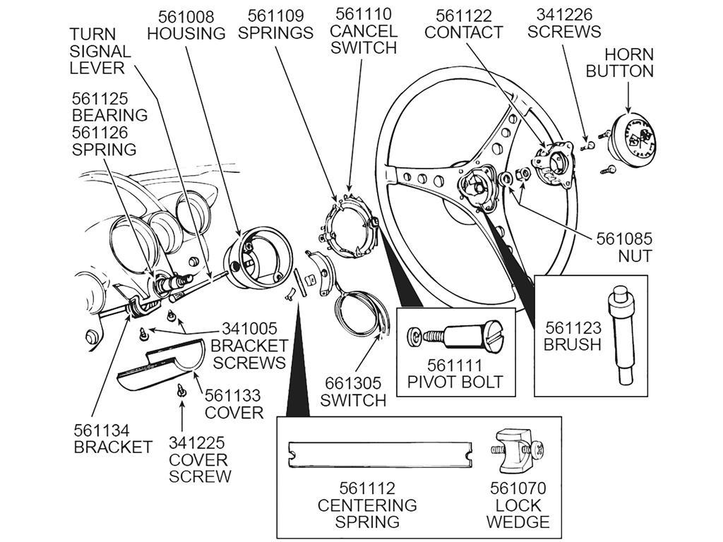 55-62 turn signal switch