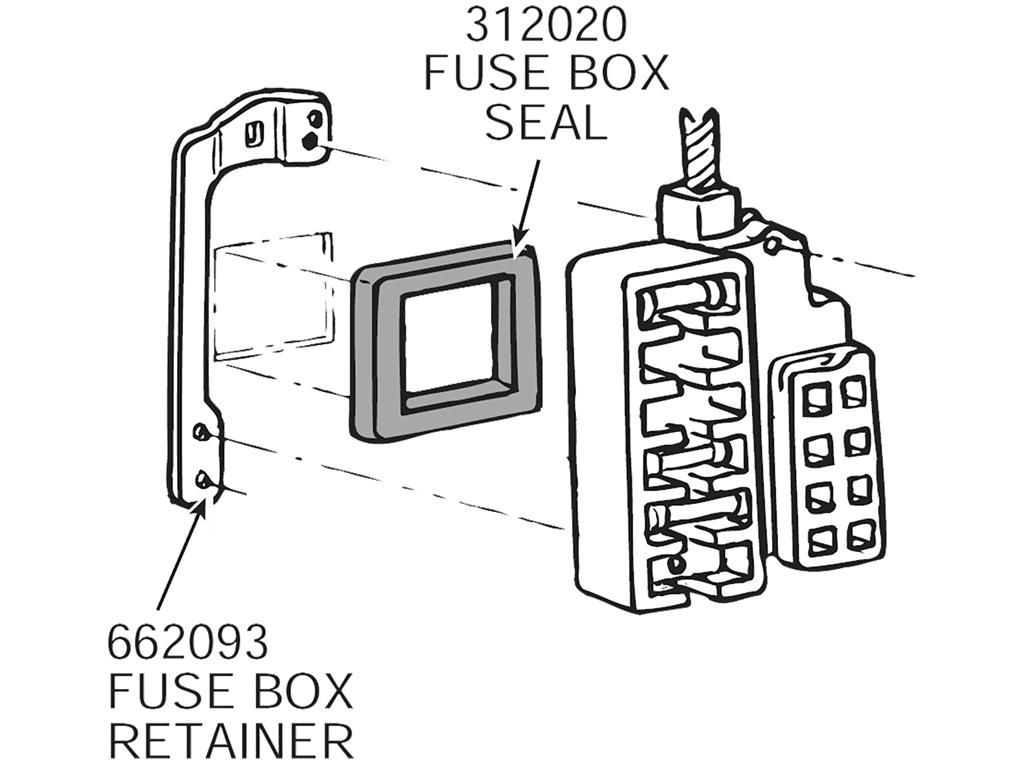 fuse box gasket wiring diagram Sterilite 32 Quart Gasket Box