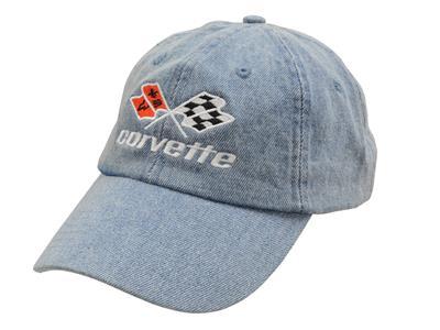 Corvette C4 Blue Denim Hat
