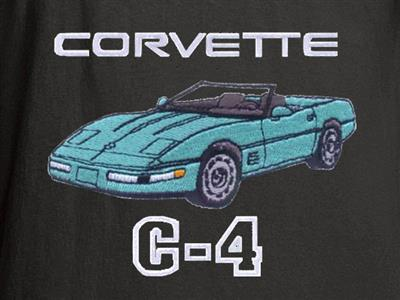91-96 T-shirt - Black With Your Exterior And Interior Convertible Colors