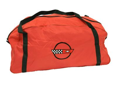 104926.main.jpg  sc 1 st  Corvette Central & Red Duffel / Car Cover Storage Bag With C4 Embroidered Logo ...