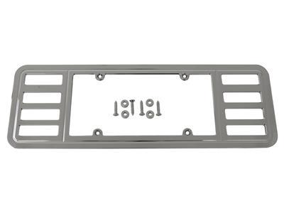 97-04 Rear License Plate Frame / Bezel - Chrome ( Billet Aluminum ...