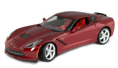 Die Cast - C7 Crystal Red Corvette Stingray Coupe 1 18th Scale - Maisto ee0278fce95f7