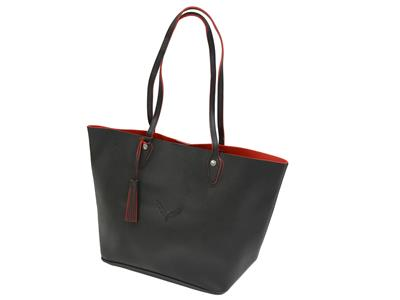 58e809b9a7e0 Corvette Black And Red Tote Bag. 107556 107556.main.JPG