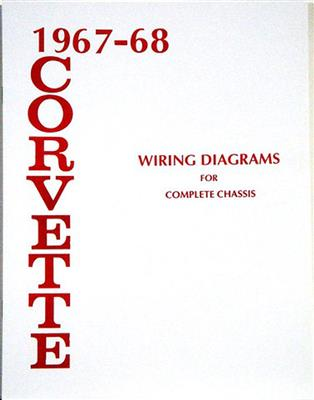Astounding 67 68 Wire Diagram Book Corvette Central Wiring 101 Akebretraxxcnl