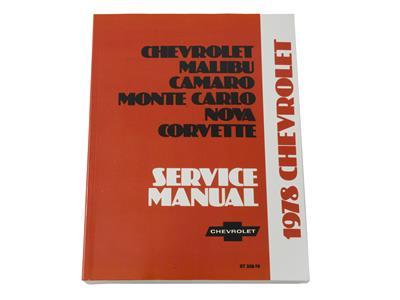 1978 Corvette Shop Service Manual