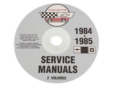 84 85 shop service manual cd corvette central rh corvettecentral com service manual cdj 850 service manual cd changer toyota alpine