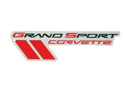 Magnet - Corvette C6 Grand Sport Logo - 7