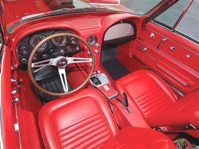 67 Interior Upholstery Package Deluxe Vinyl Convertible (ND)