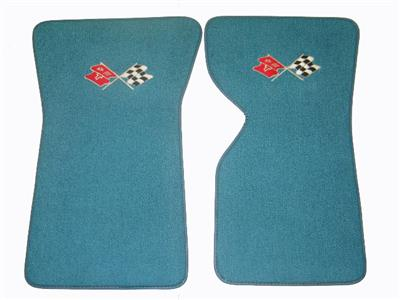 68-76 Floor Mat - 80/20 Carpet With C3 Crossflag Embroidered Logo