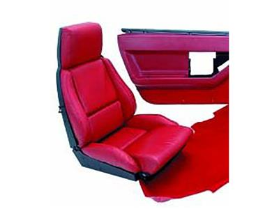 88 Interior Package Vinyl Leather Look Seat Cover ND
