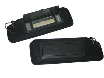84-96 Sunvisor Correct With Lighted Vanity Mirror - Pair  63dc953198e