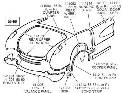 1986 Corvette Headlight Motor