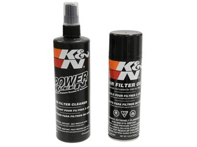 k&n air filter cleaner and oil service kit | corvette central