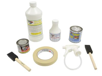 Por-15 Brake Caliper Painting Kit - Yellow (ND)