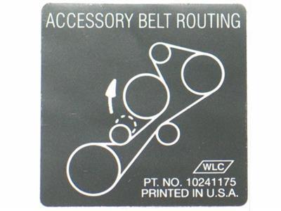 Main on 2002 Corvette Serpentine Belt Diagram