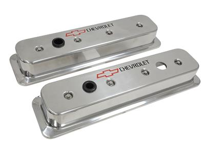 86 91 Valve Cover Chevrolet Polished Aluminum 1986 Late