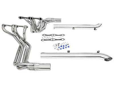 65-74 396 / 427 / 454 Side Mount Exhaust Kit - Stainless Steel By Dougs  Headers