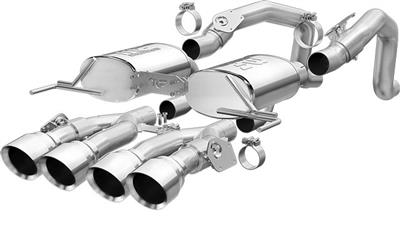 14-19 Magnaflow Performance Street Series Axle Back Muffler With Npp Exhaust