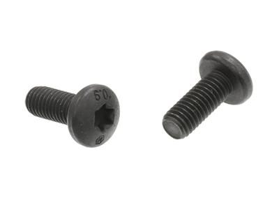 86-96 Roof Panel Front Hold Down Plate/ Hardtop Side Bolt - Set Of 2