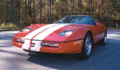 84 96 Headlight Non Pop Up Corvette Central