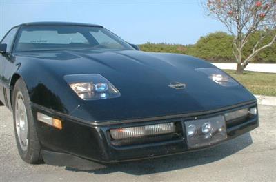 84-96 Headlight - Non Pop-up   Corvette Central