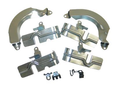 56-57 Spark Plug Heat Shield Kit