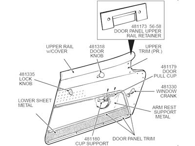 56 62 Window Crank Handle