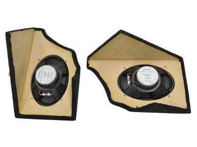 CORVETTE 78-82 REAR RADIO SPEAKER GRILLE RIGHT NOS  14048302