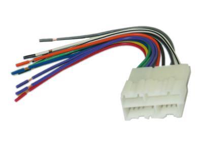 524072.main 90 96 radio wire harness with plug custom corvette central