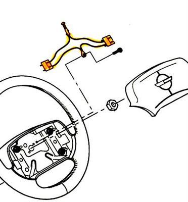 Horn Button Wiring