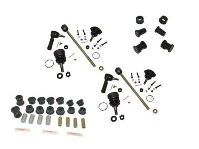93-96 Front Suspension Rebuild Kit With Polyurethane Bushings