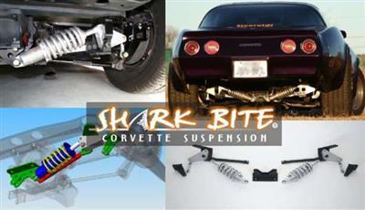63-77 Shark Bite Rear Coil Over Suspension Kit - Hard Springs Double Adjust  (ND)