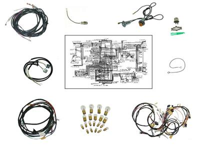 1956 corvette wiring diagram 56 wire harness kit automatic transmission deluxe corvette  56 wire harness kit automatic