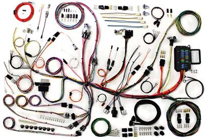 custom wiring harness kits 53 62 complete custom wire harness update kit corvette central  wire harness update kit corvette central